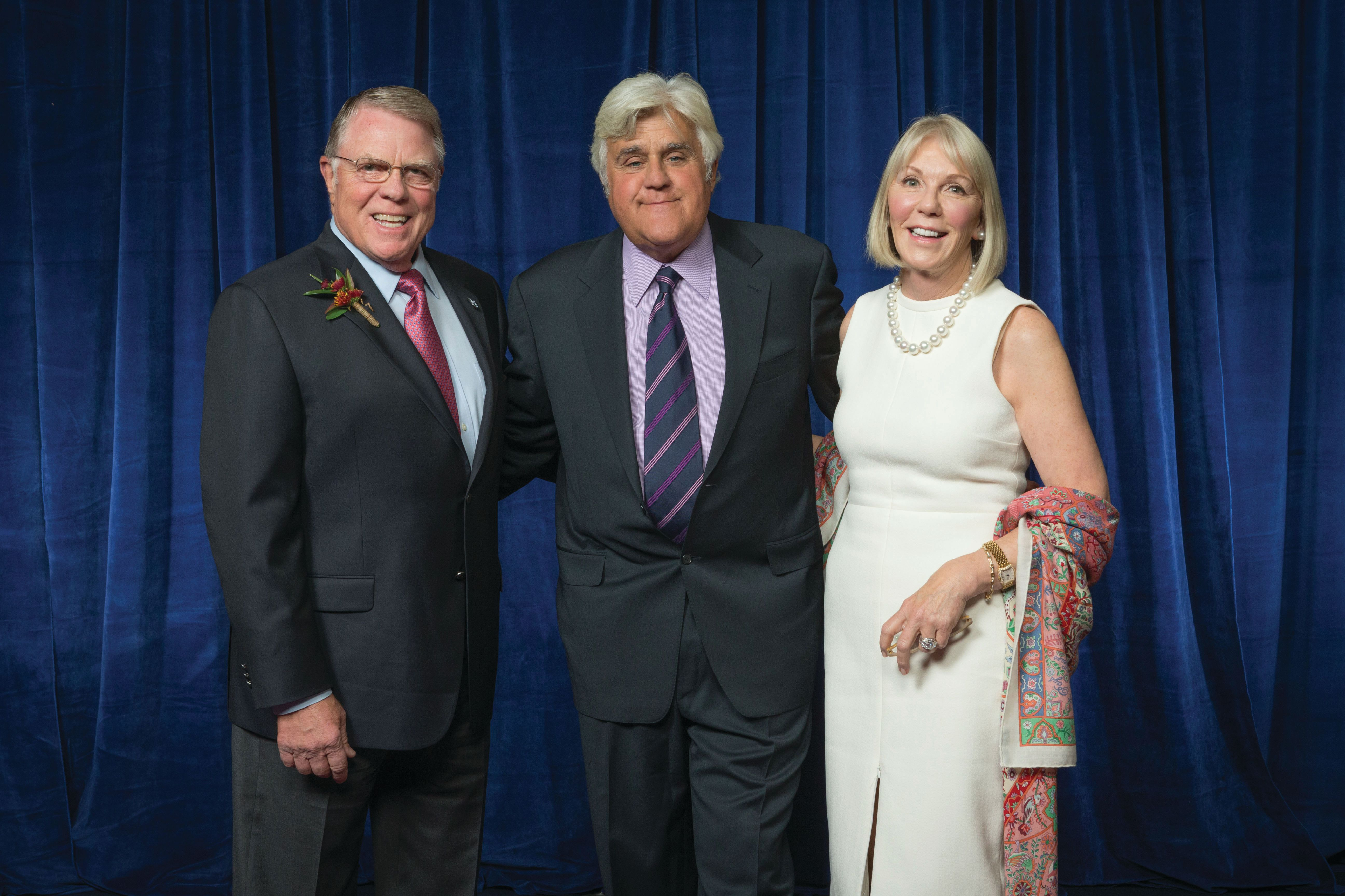 Peter and julie stott with jay leno tzcmaw