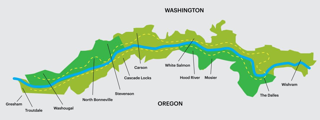 Will A 200 Mile Trail Come To The Columbia River Gorge Portland