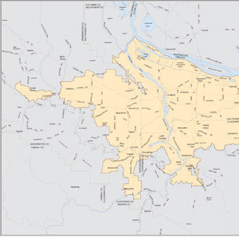 1978 map of the urban growth boundary as of 2006 metro uwrxhh