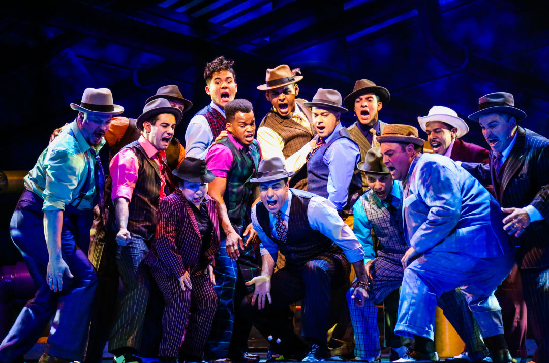 "Image result for guys and dolls ""joint"""