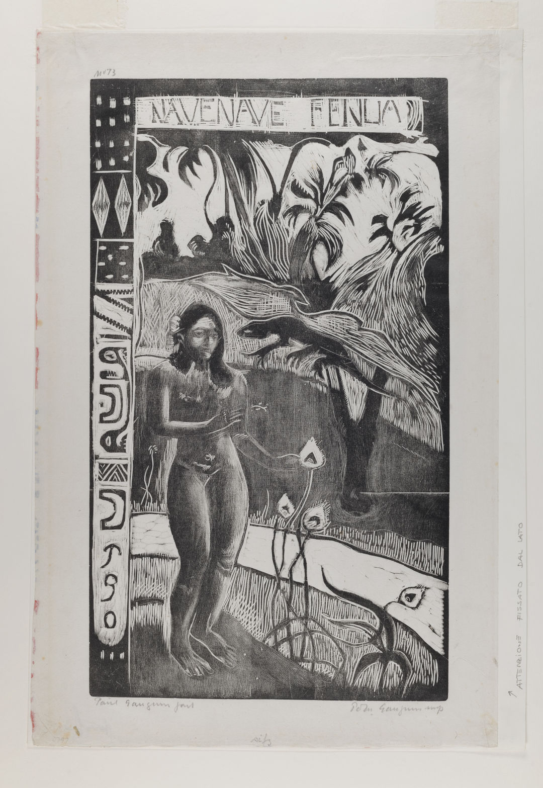 Gauguin paul  nave nave fenua  delectable earth  b99.1652 1 na6j42