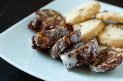 1213 olympic provisions chocolate salami 2 nu3v89