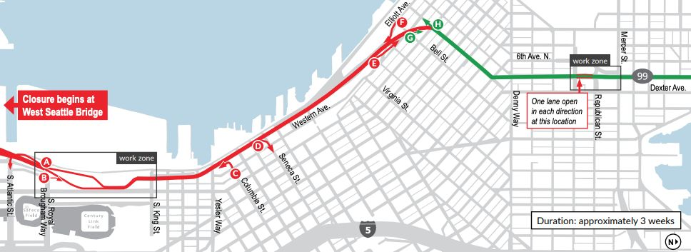 This Road Closure Is About to Wreck Your Commute   Seattle Met
