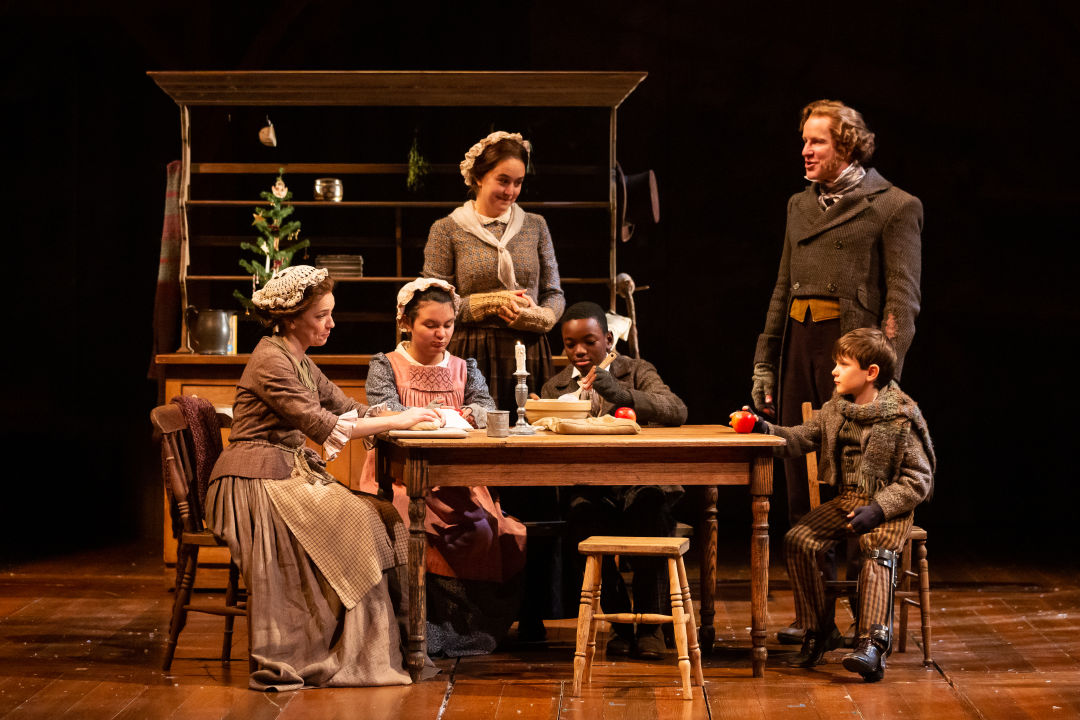 The Alley's <em>A Christmas Carol</em> Is a Family Affair for the Cratchits
