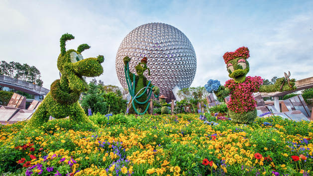 Epcot flower and garden festival f75ofb