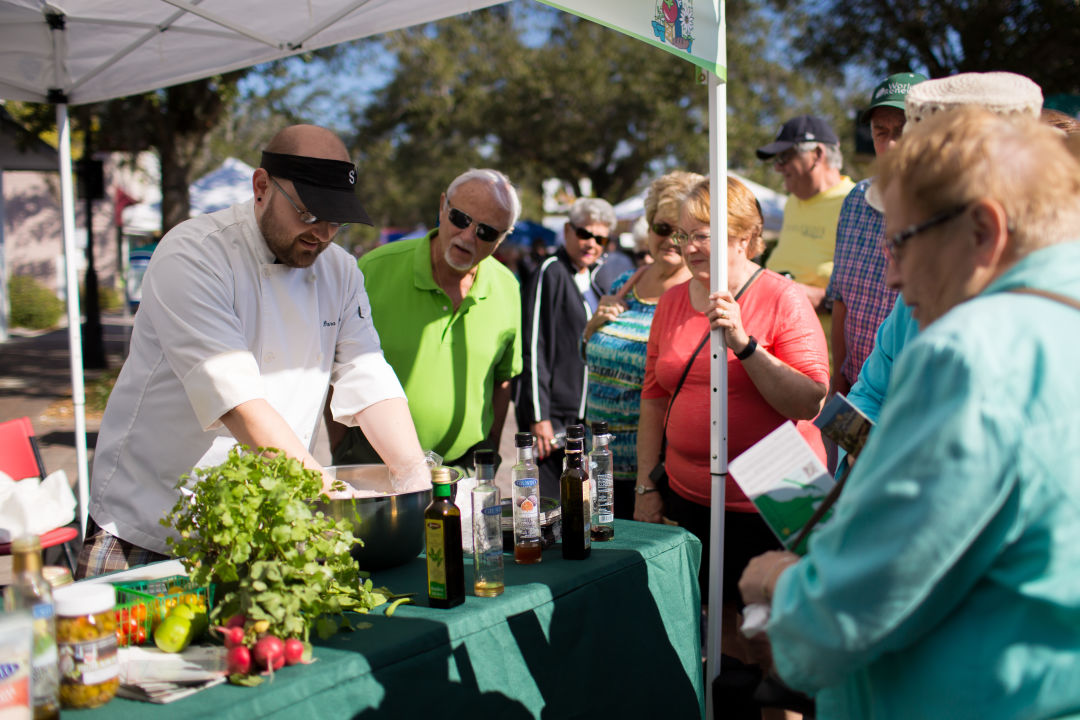 Chef dana demo bradenton farmers market alxwkk