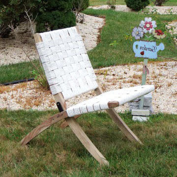 Salvage crafts folding chair nvt6wk