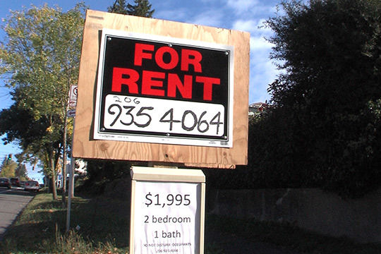 For rent sign city of seattle mf7odx