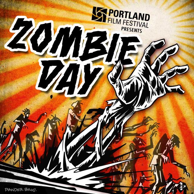 Zombie day 2. image by pander bros.  courtesy of portland film festival. mzmhtp