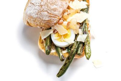 0314 green bean sandwich meat cheese bread jaskq0