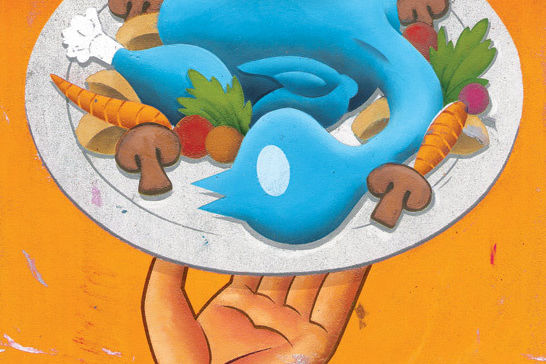 Restaurants social media illo clhywi