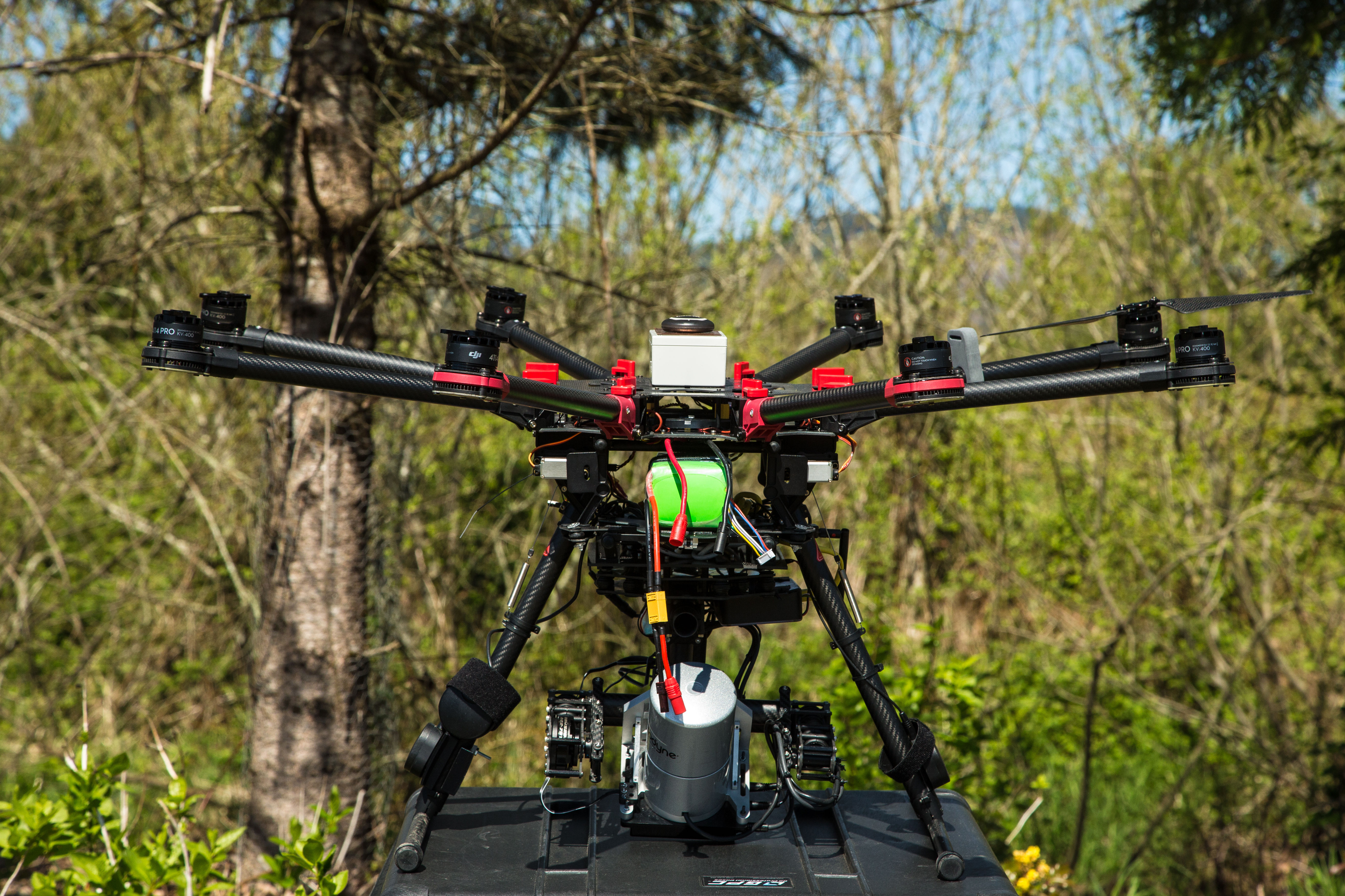 Pomo 0716 green drone jagbqi