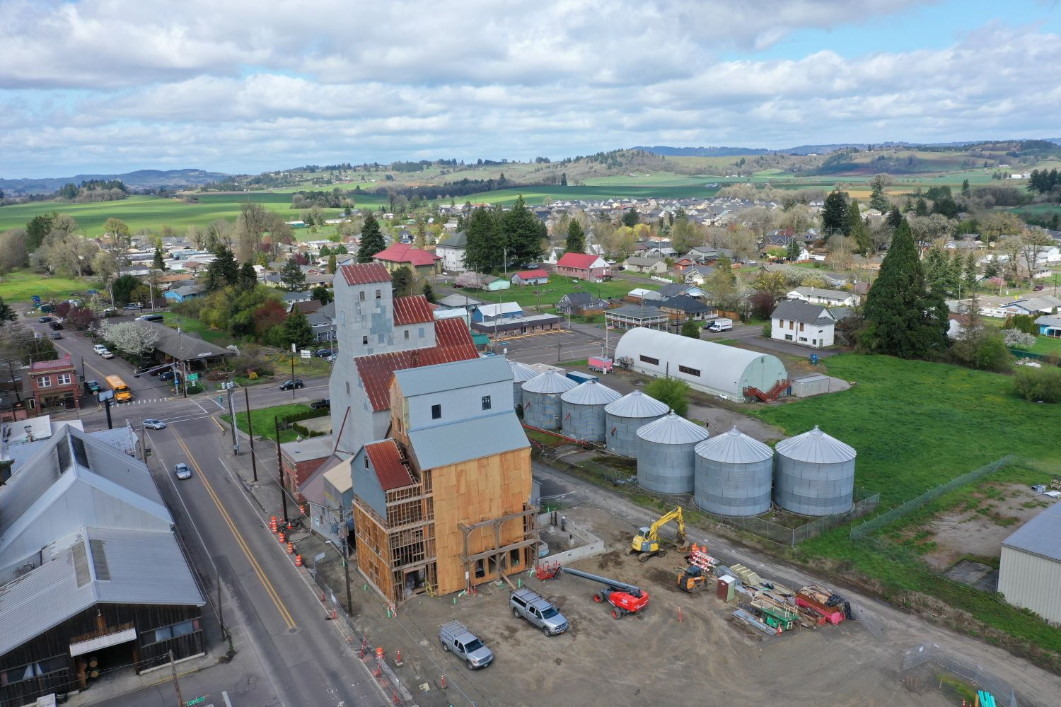 This Carlton Winery Is Turning a Century-Old Grain Elevator