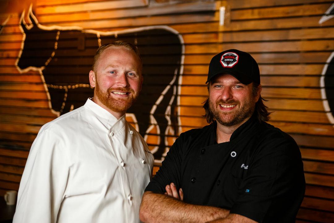 Midtown bbq chef eric aldis pitmaster brett jackson wwlfwr