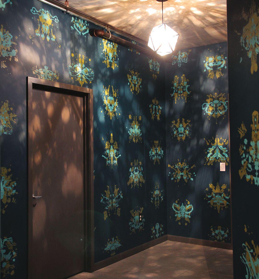 Pomoda 16 wallpaper inkblot qgmi13