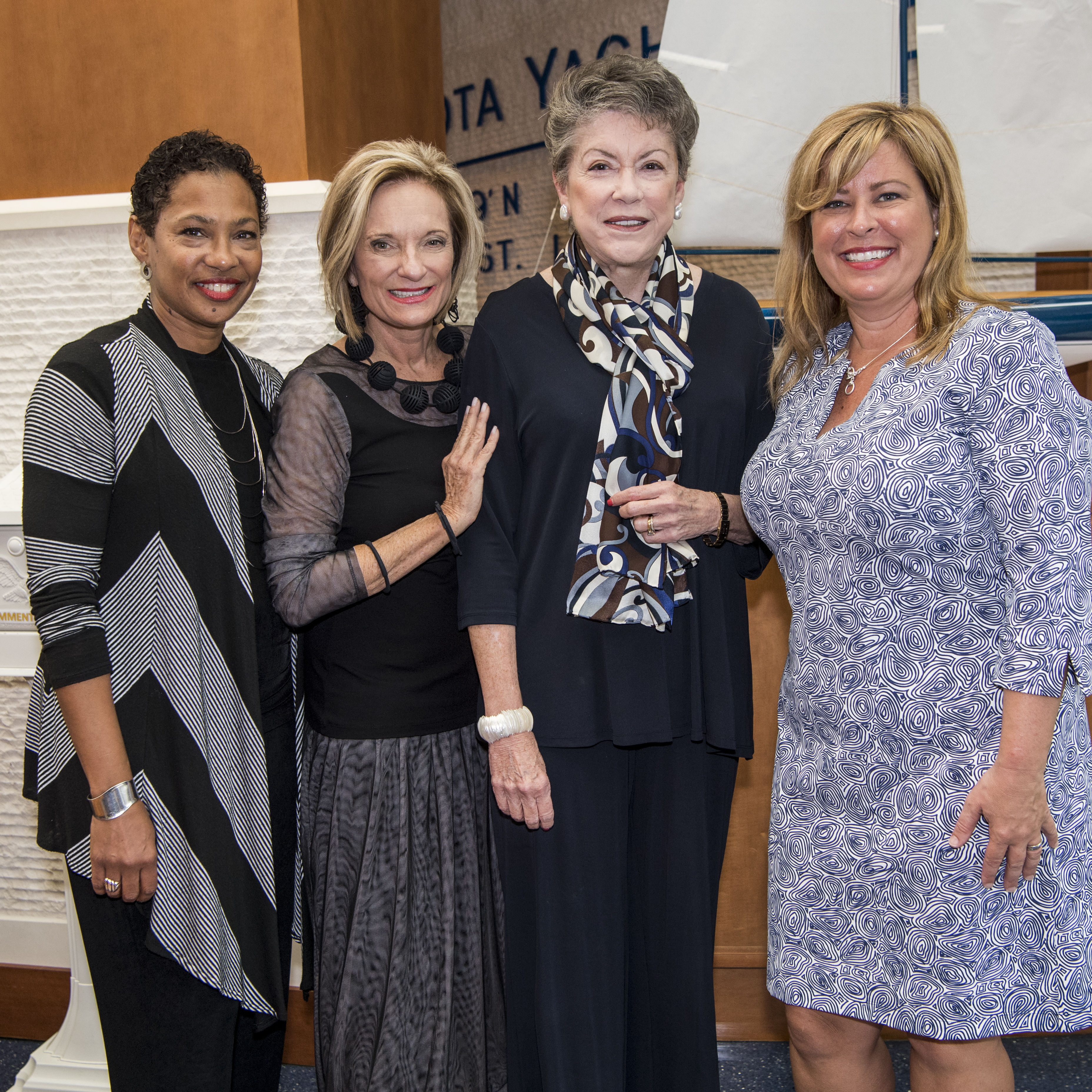 Event chairs and ceo   linda poteat brown  barbara zdravecky  susan buck  and kimberly bleach ypmjre