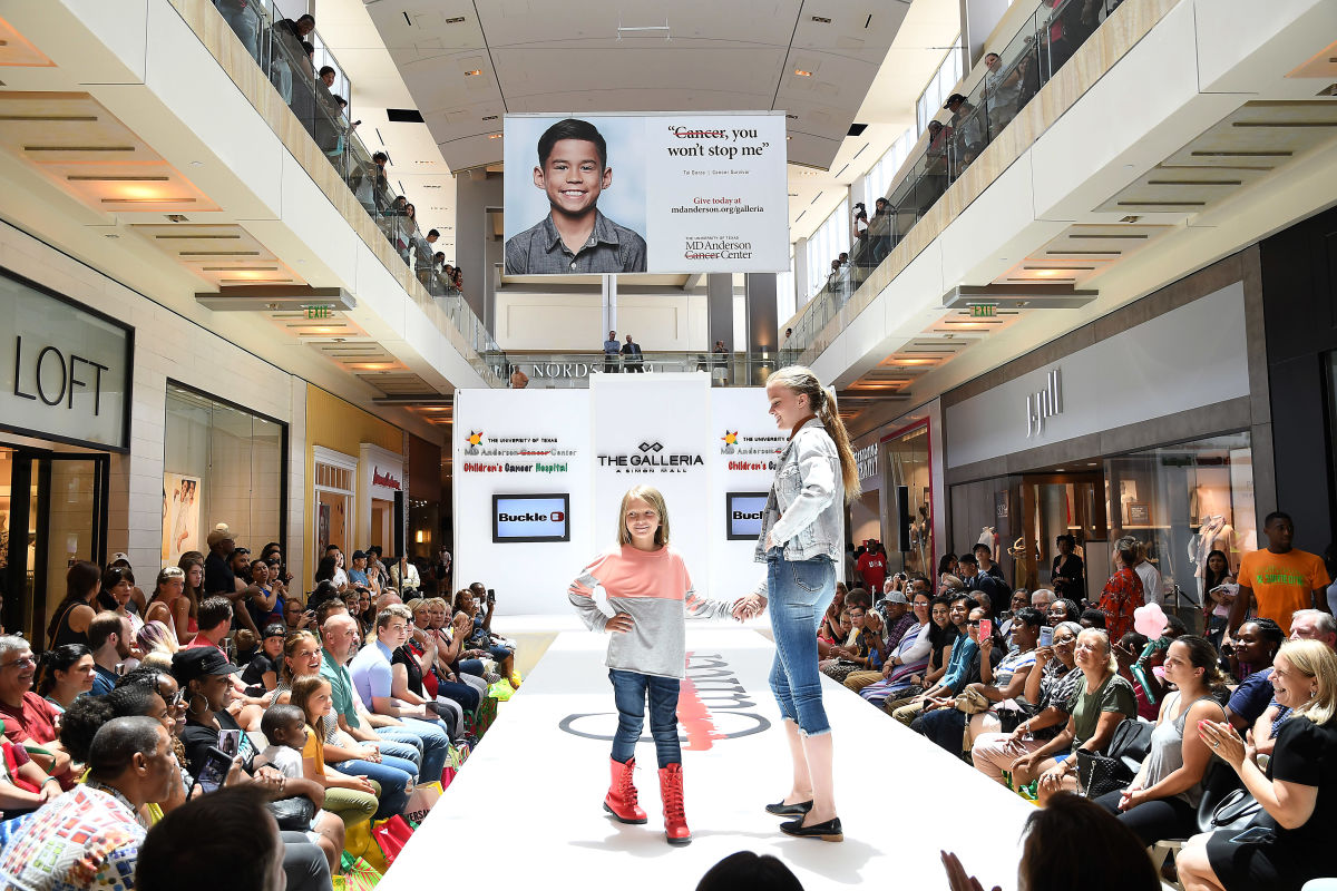 MD Anderson Children's Patients Model Back-to-School Styles