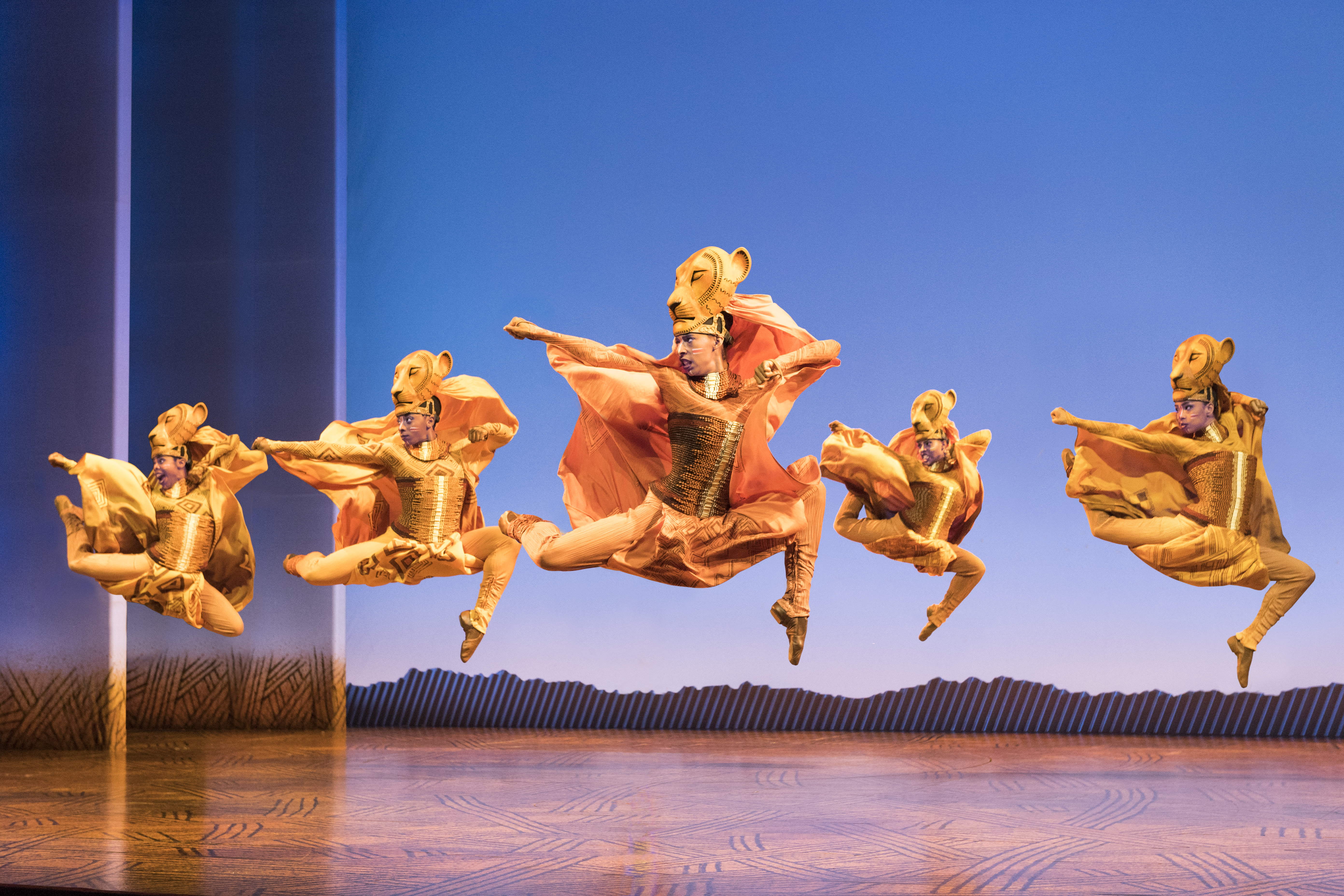Lionesses dance in the lion king north american tour   disney. photo by deen van meer  umavsm