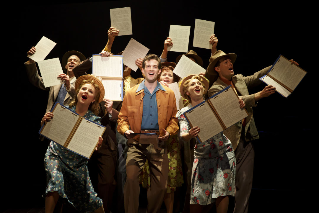 089.aj shively and the cast of bright star in original broadway company  photo by joan marcus  adxxsv