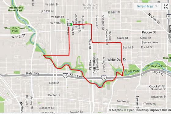 Texas run map 1 dlsgqw