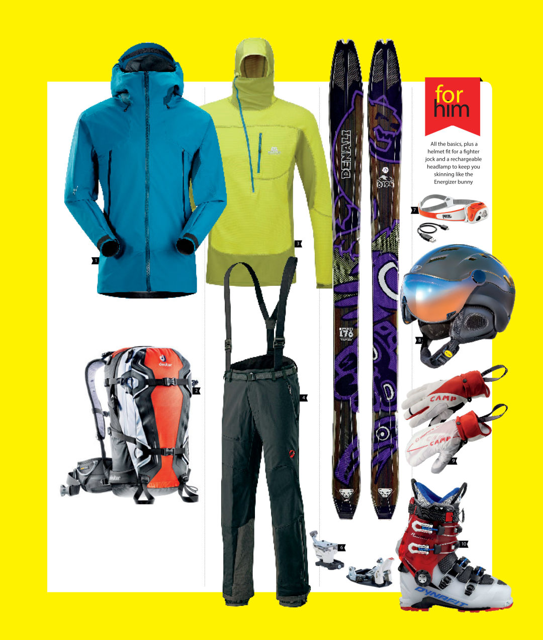 Cosu winter 2015 gear for him sfcr2w