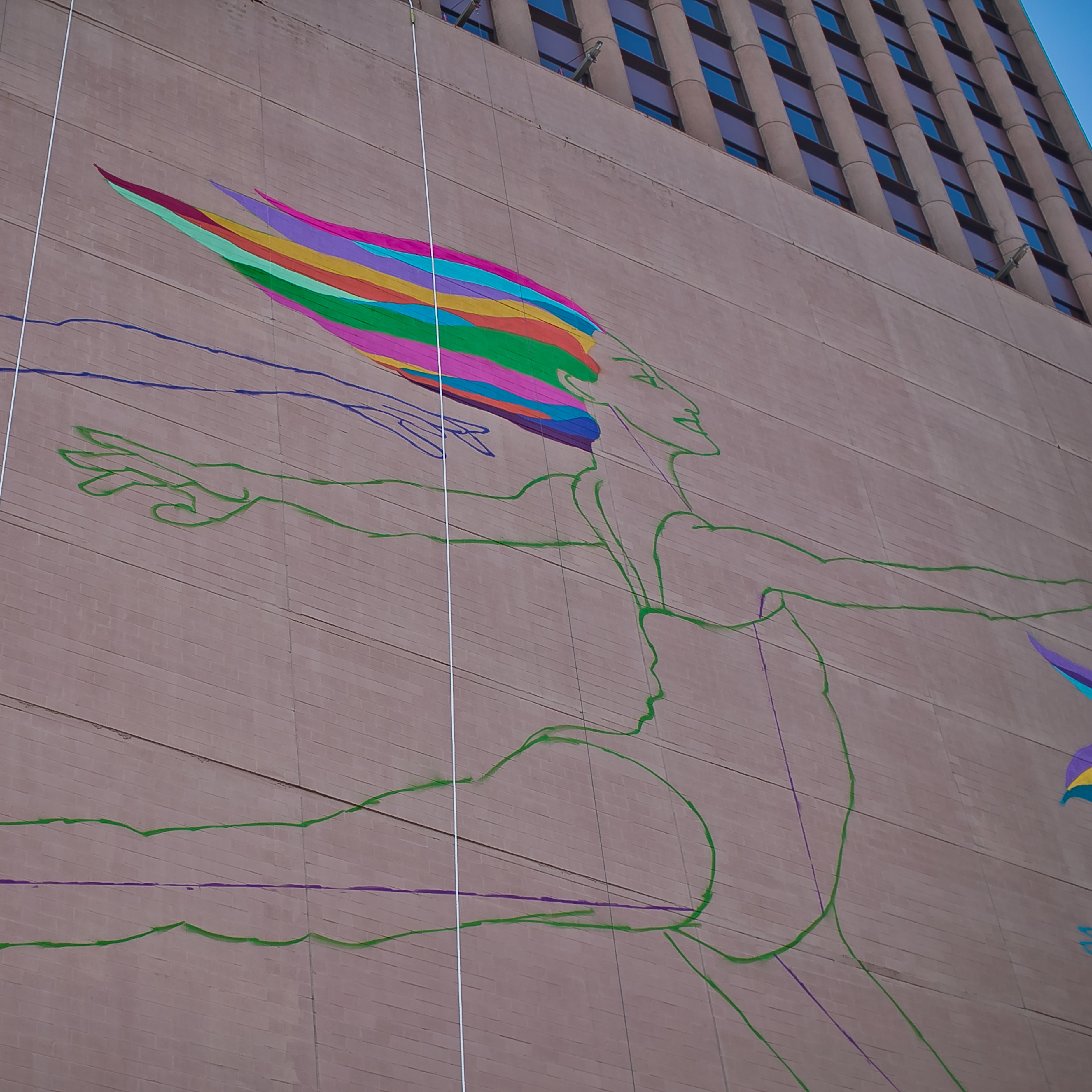 Sky dance mural in progress 01 photo by morris malakoff  the ckp group htfbhd