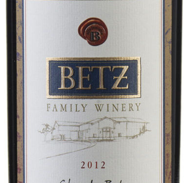 2012 clos de betz bottle bgysdg