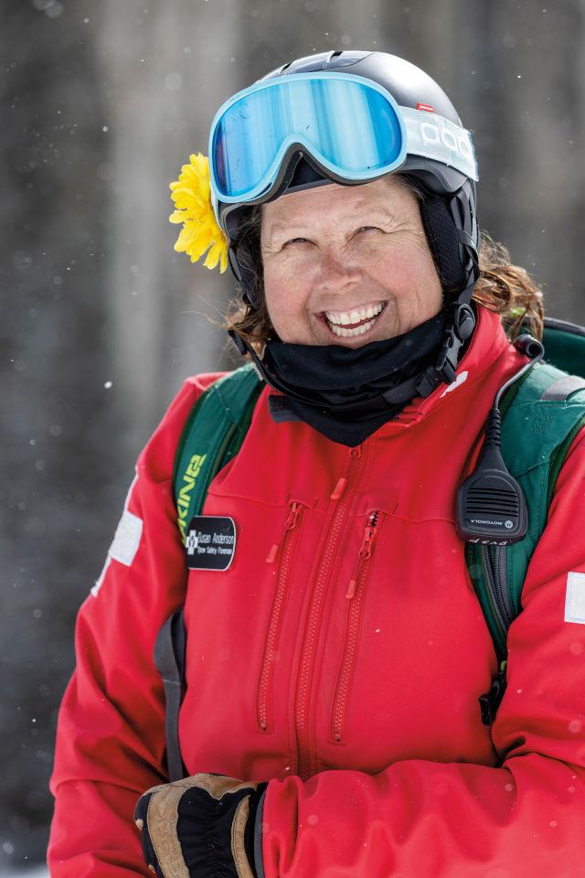 Sue Anderson, Snow Safety Foreman