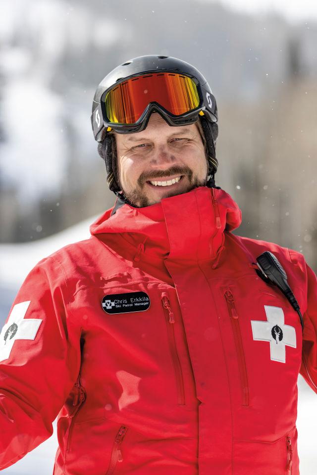 Chris Erkkila, Ski Patrol Director