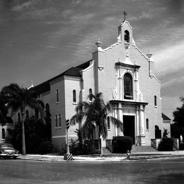 St. marthas church 1950s xb4g2j