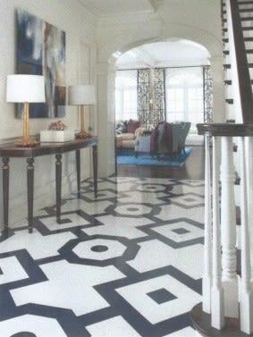 Painted floors oxrasd