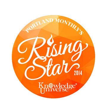 Rising stars logo buxcmc