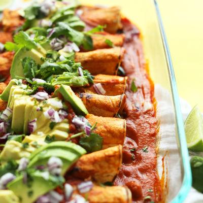 The best vegan enchiladas d1he8h