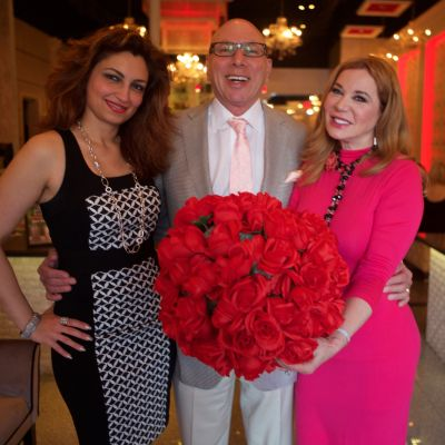 Mahzad mohajer  dr. franklin rose  and cindi rose  photo by herb hochman ymfblz