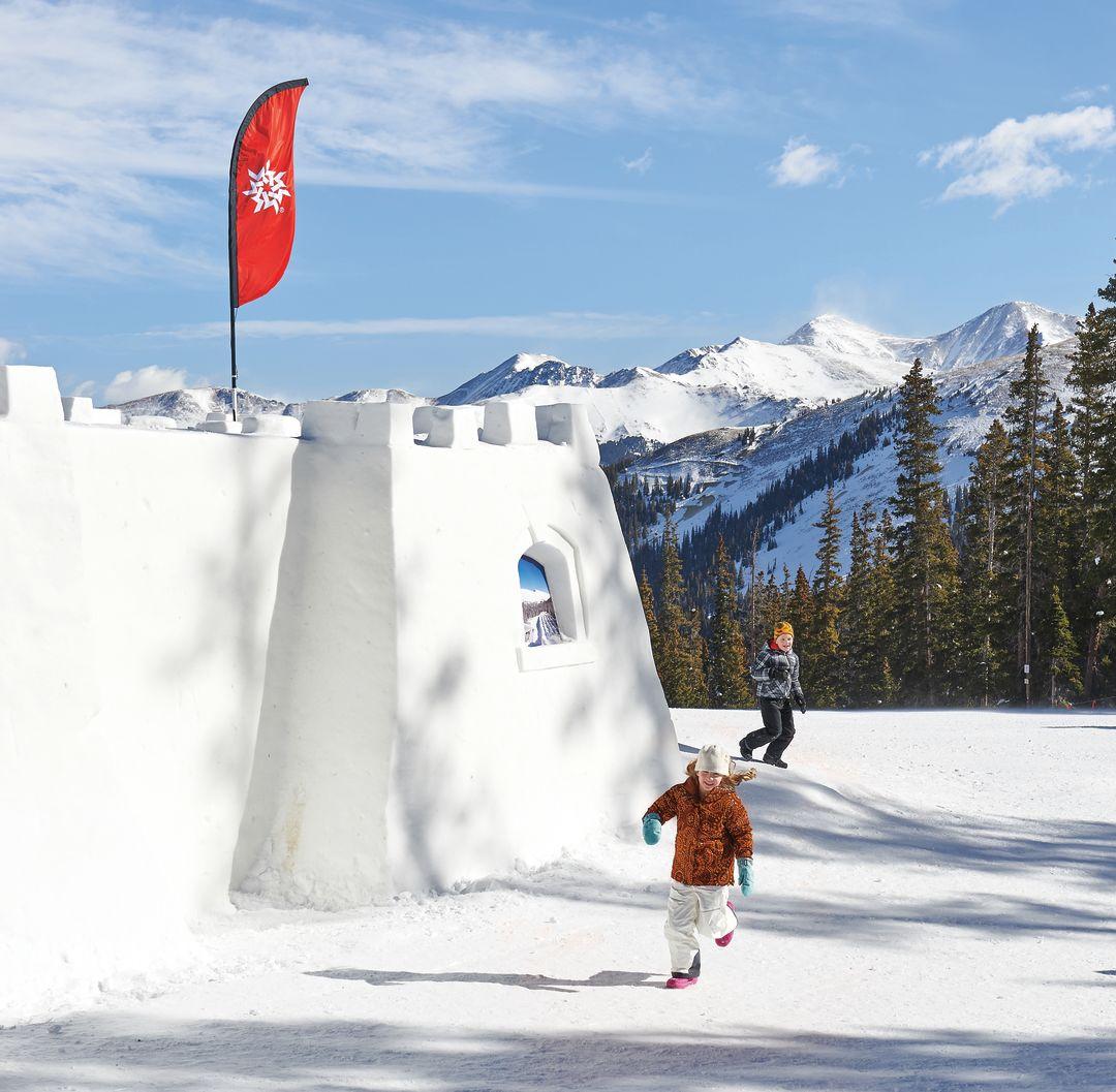 Cosu winter 2015 3 days snow fort gikmii