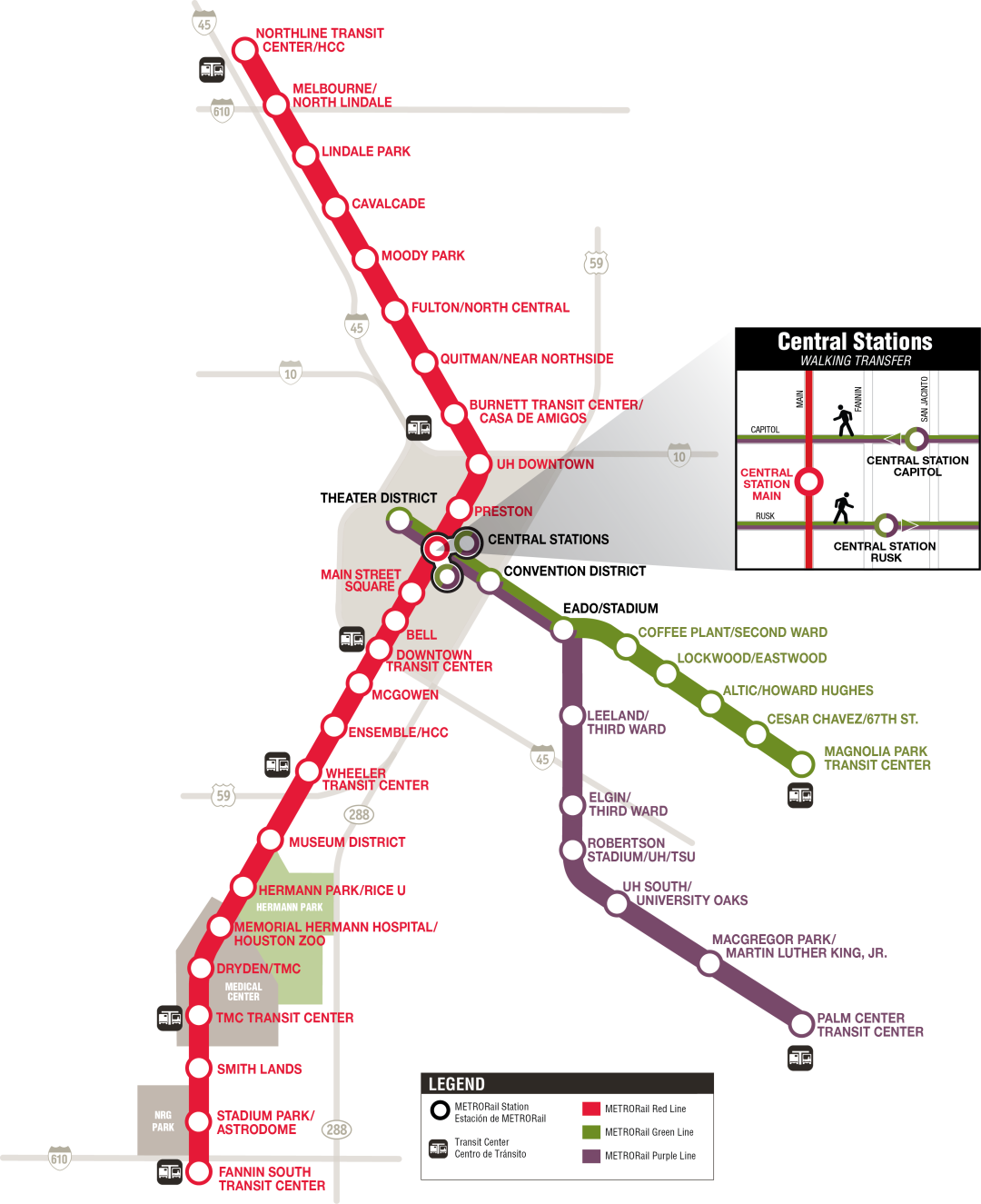 Metrol rail line x2z02d