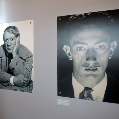 Picasso and dali portrait photos by man ray  du8n4f