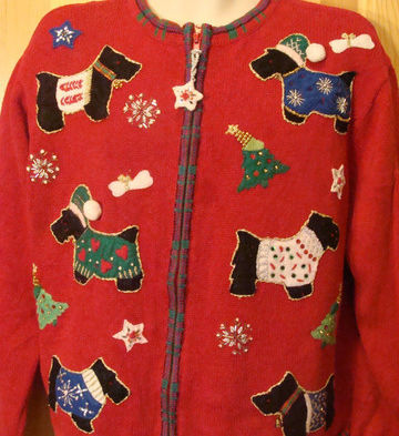 F2365a funny christmas sweaters large pallzz