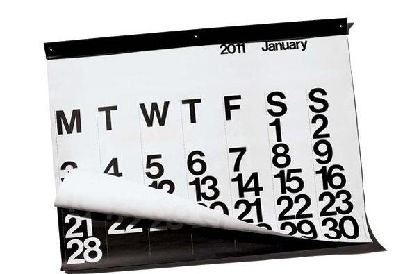 Vignelli calendarnyt tyaoti