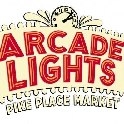 Arcade lights at pike place market 520x397 rcgq8j
