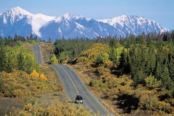 Alaskan highway yukon gidmnl