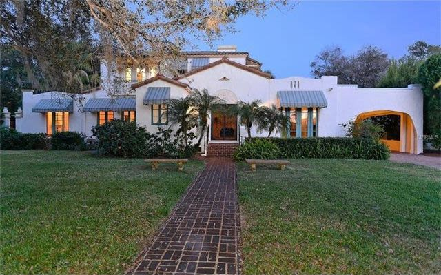 Spanish style homes for sale sarasota fl