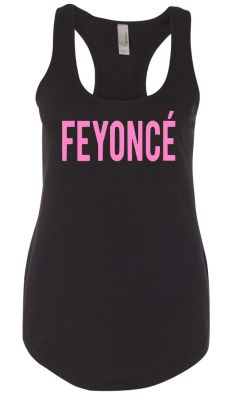 Feyonce racerback pink xdfru2