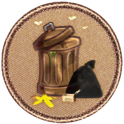 0813 garbage badge rggae7