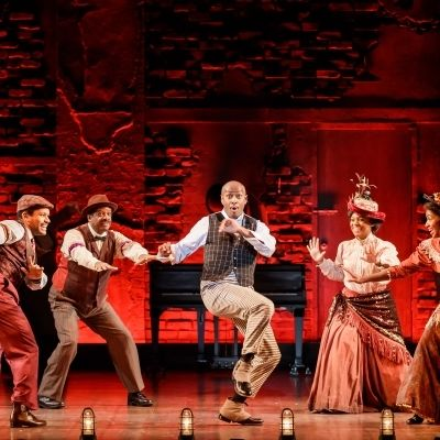 Douglas lyons as coalhouse walker  jr. and company in ragtime   photo credit mark kitaoka 600x400 ae73p9