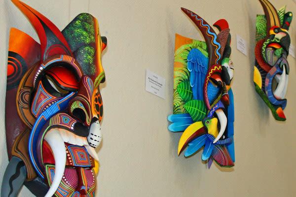 Rainforest masks of costa rica zen4o3