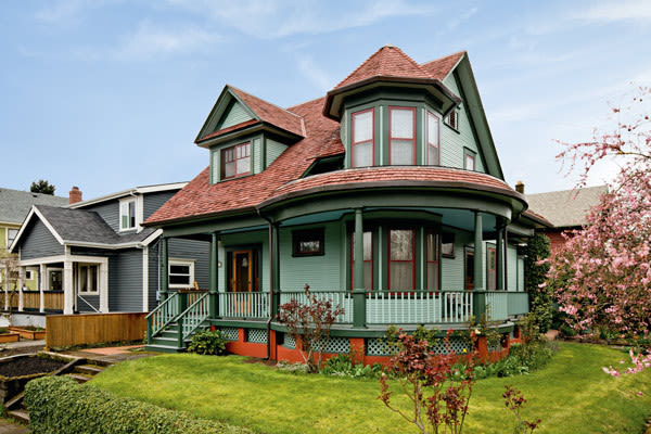 Period perfect portland monthly for Victorian style kit homes