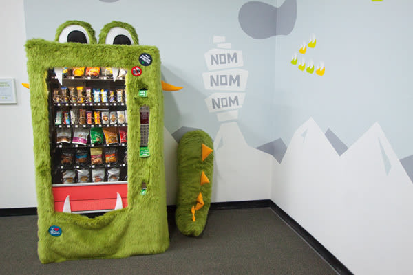 Vending munch monster rizjxn