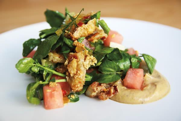 Fried chicken salad aviary wdn8mp