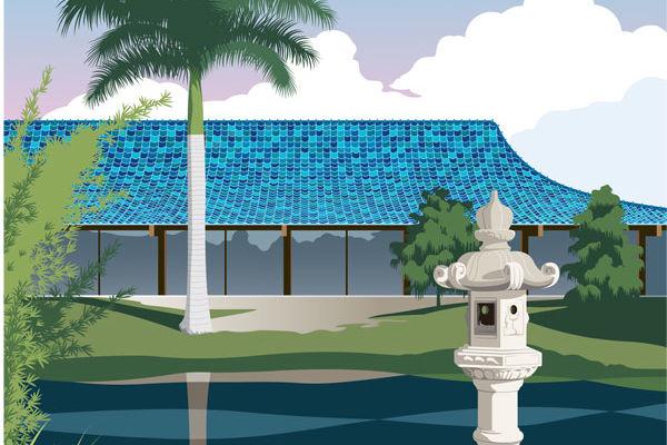 Bluepagoda uvbgjw